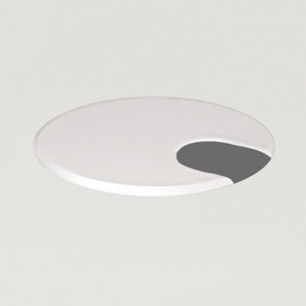 Tischpülatten-Kabeldurchlass weiß