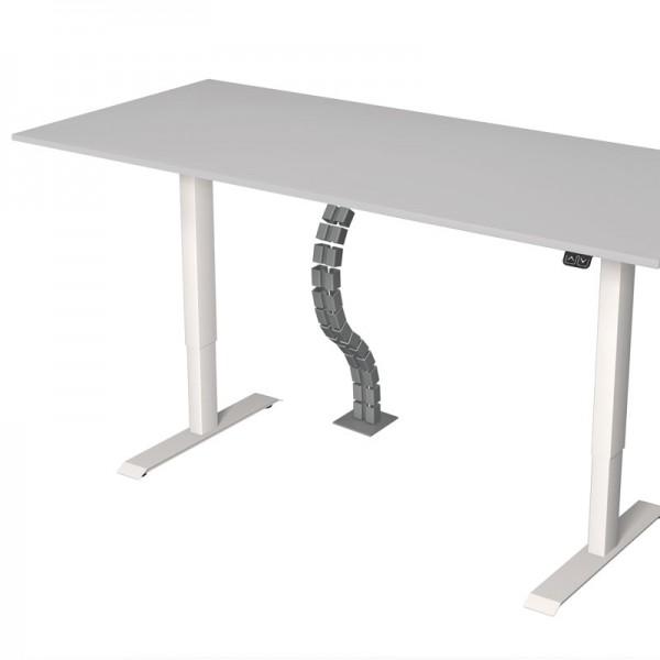 Vertikale Kabelführung Steh-Sitztisch Move1