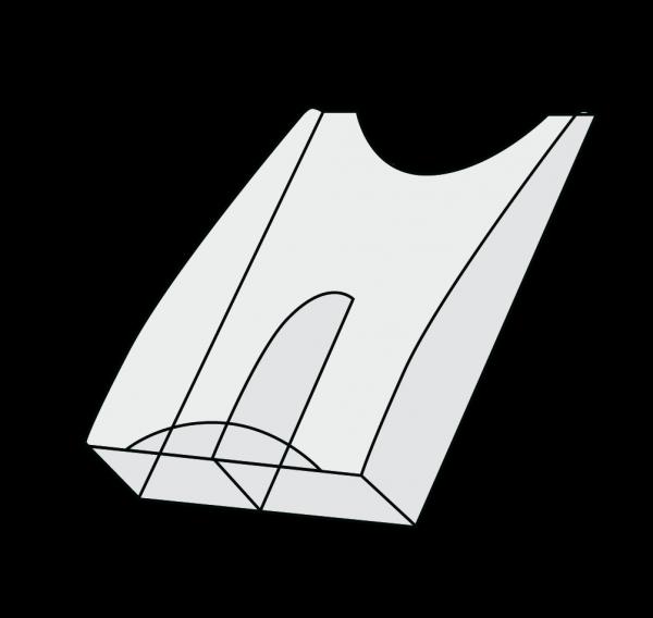 Fachteiler (2x DIN lang, Tec-Art)