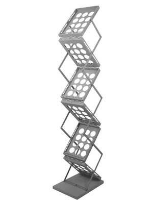 Metall Prospektständer (A4, faltbar)
