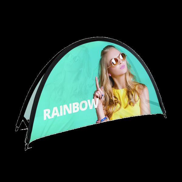 Beachbanner Rainbow