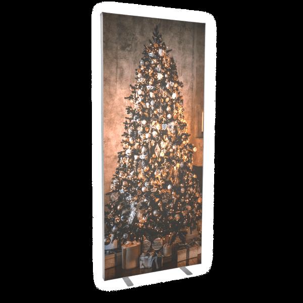 LED Leuchtrahmen - Weihnachtsmotiv