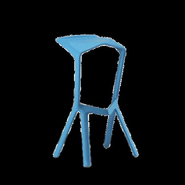 Design Barhocker Miura - hellblau