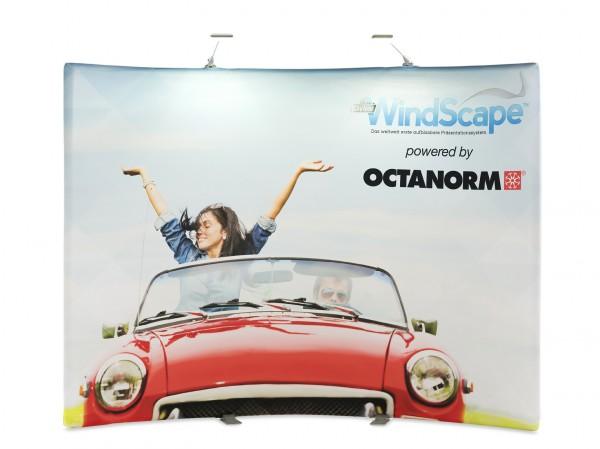 WindScape - gebogene Rückwand