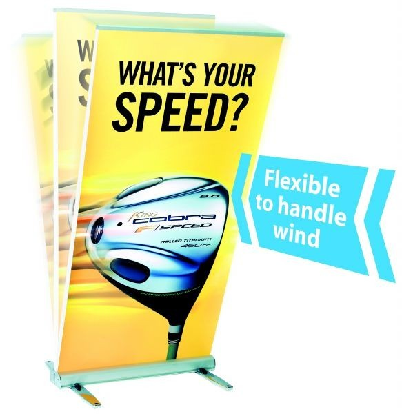 Expand MediaScreen 2 Outdoor Roll Up Display