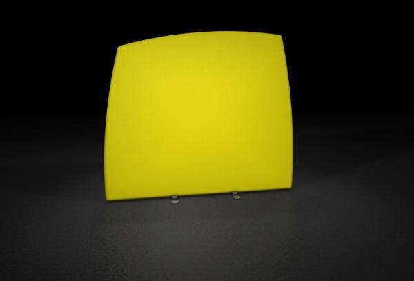 WindScape - Rückwand mit gebogenen Seiten (gerade)