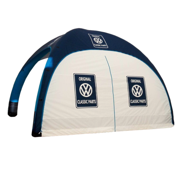 Aufblasbares Zelt 4x4m Set