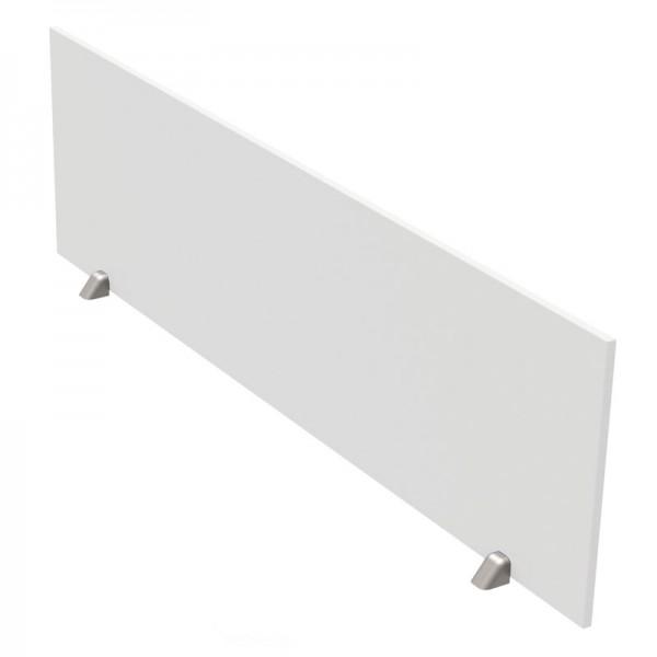 Tischtrennwand weiß