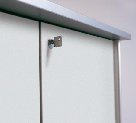 OctaCounter Türen-Set abschließbar