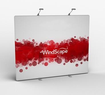 WindScape - Rückwand mit Fußplatten (gerade)