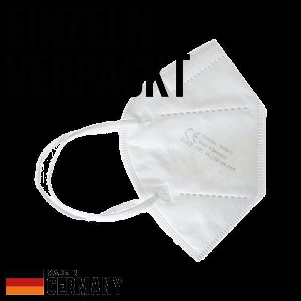 FFP2 Atemschutzmaske KN95 mit CE- made in Germany