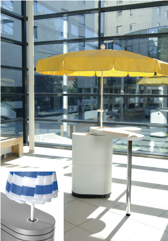 Sonnenschirmhalter
