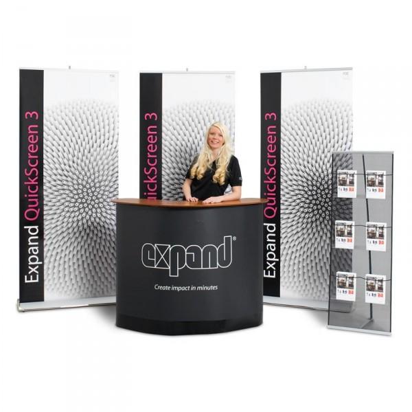 Expand Quickscreen-3 Messestand