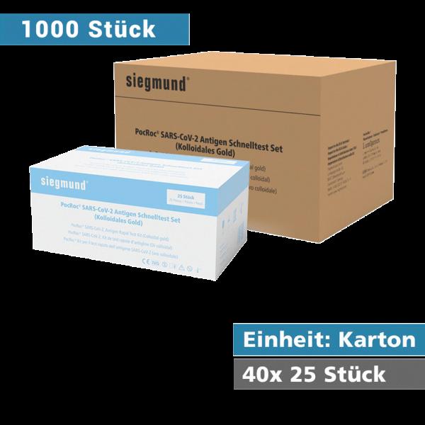 Covid-19 Antigen Schnelltest 1000er
