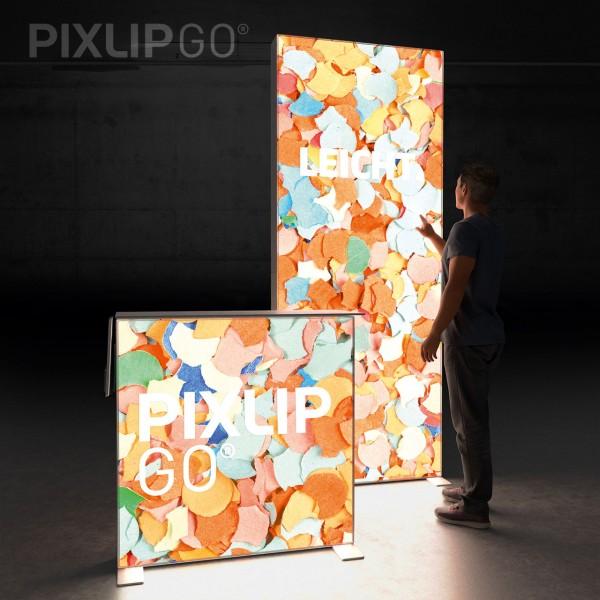 LED Messeset PIXLIP GO HS10 - Kopfstand 1,5 x 1 m